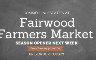 Fairwood Farmers Market , commelllini estate, farmers market spokane