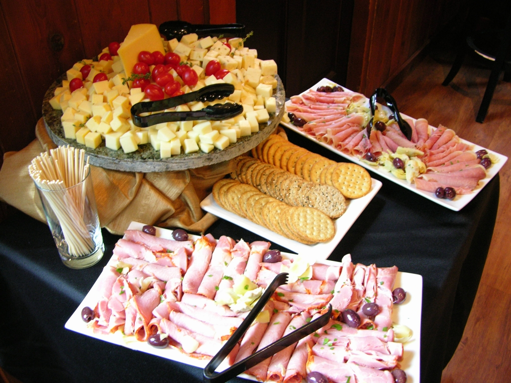 Cheese Plate, Holiday Party, Commellini Estate, Commellini Catering, Christmas Party