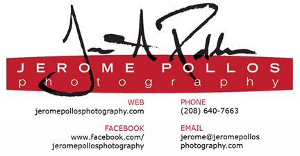 Jerome Pollos Photography Logo