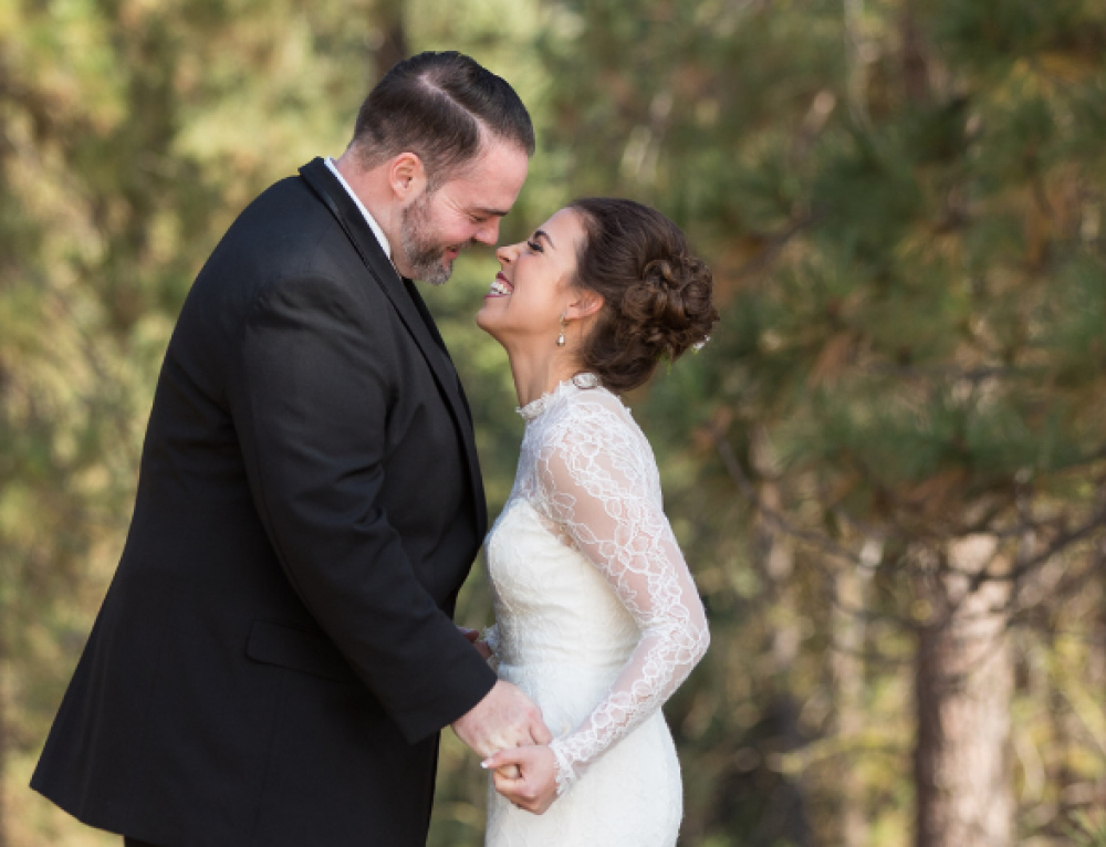 Desiree + Emilio's Wistful Woodsy Romance
