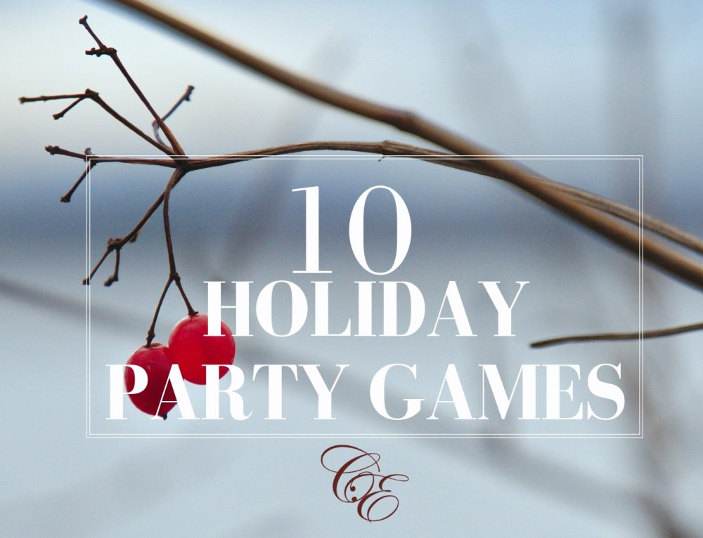 10 Holiday & Christmas Party Games – Spokane