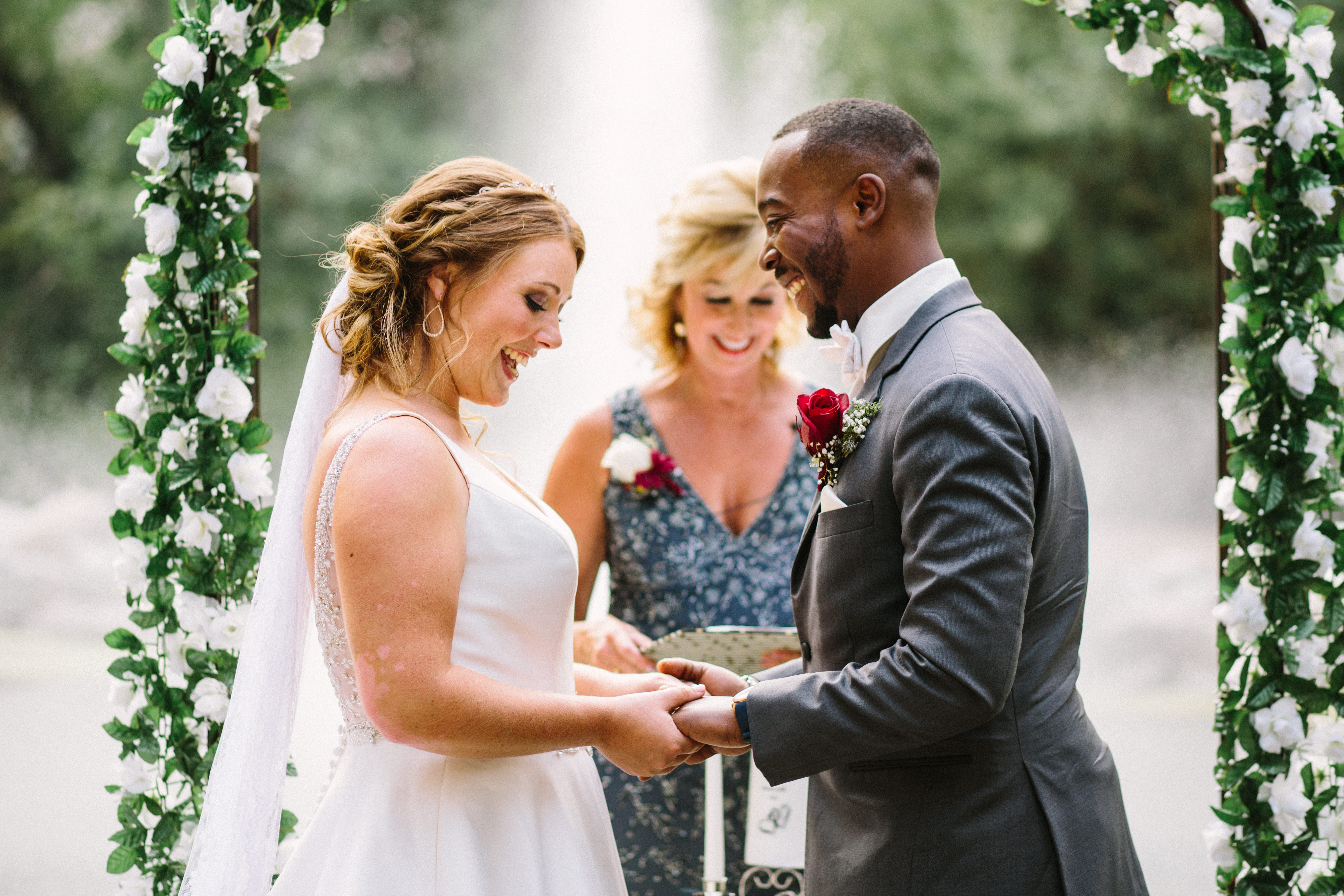 whimsical summer wedding