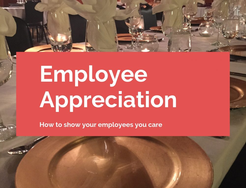 Employee Appreciation Dinner