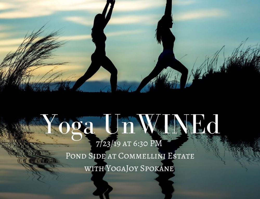 July: Yoga UnWINEd at Commellini Estate