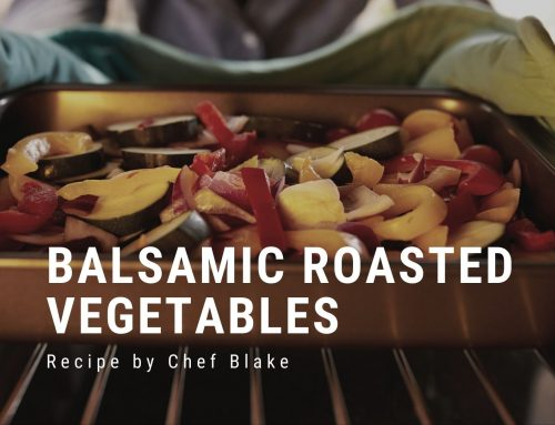 Recipe: Balsamic Roasted Vegetables