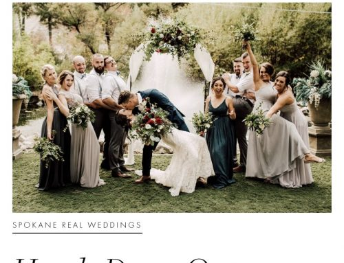 Apple Brides Article: Favorite First Look