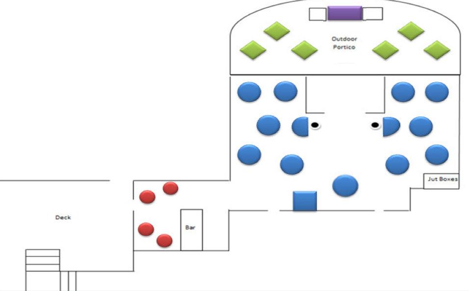 Commellini Estate Spokane Wedding Venue Table Layout 18