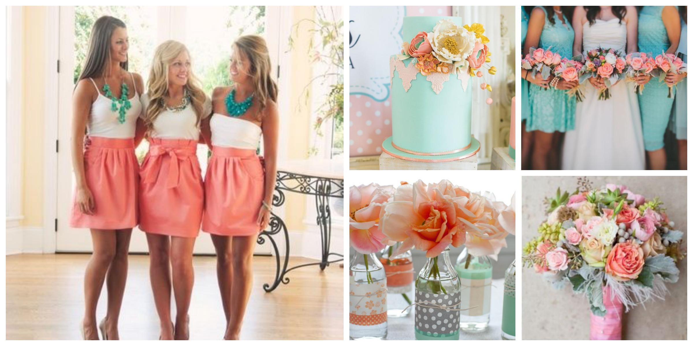 Teal C Wedding Colors