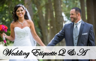 Commellini Estate, Wedding Etiquette Q & A