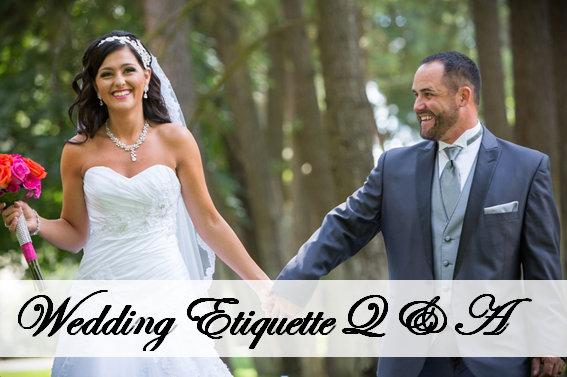 Commellini Estate, Wedding Etiquette Q & A