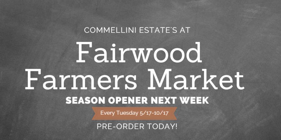 Fairwood Farmers Market , commelllini estate, farmers market spokane
