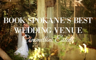 commellini estate, best wedding venue spokane