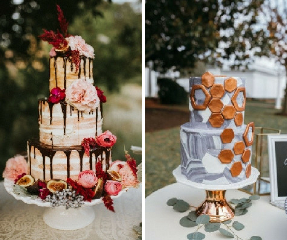 traditional wedding cakes 2018 unveiled 2018 wedding trends dresses amp desserts 21187