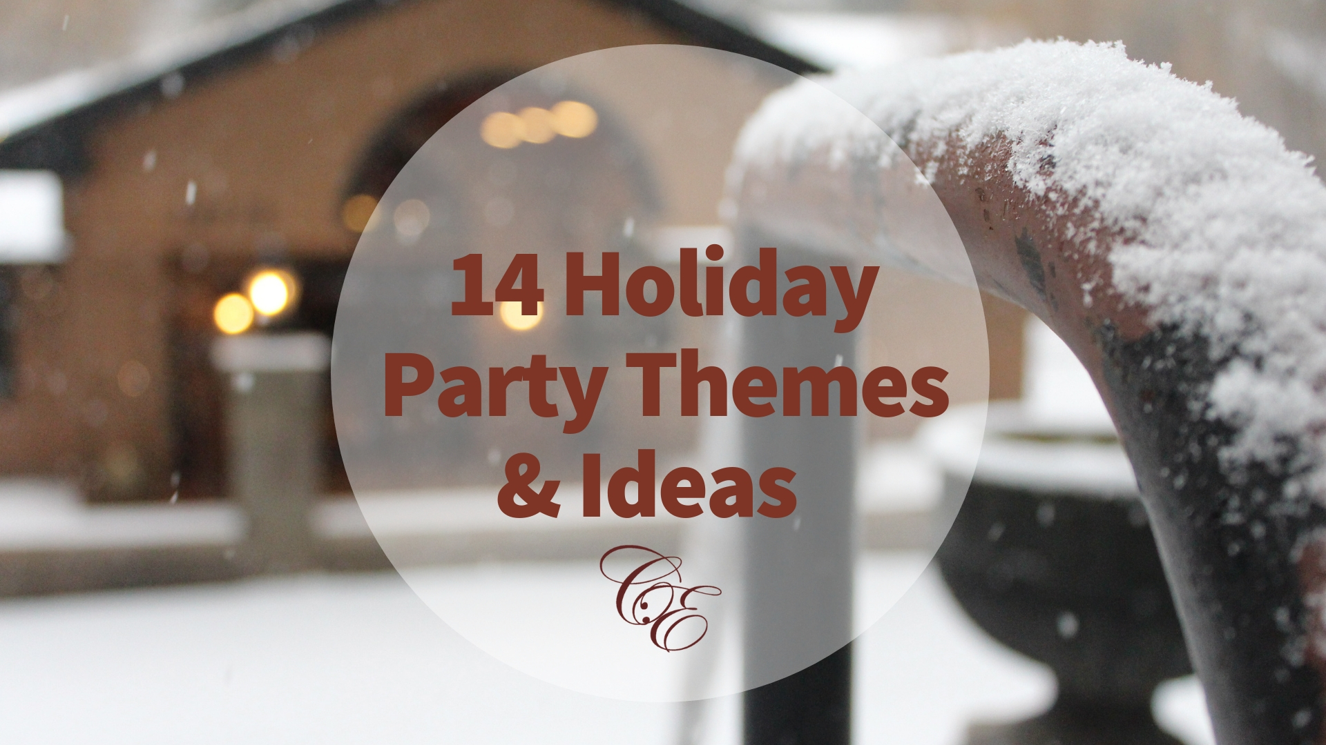 14 Holiday & Christmas Party Themes-Spokane