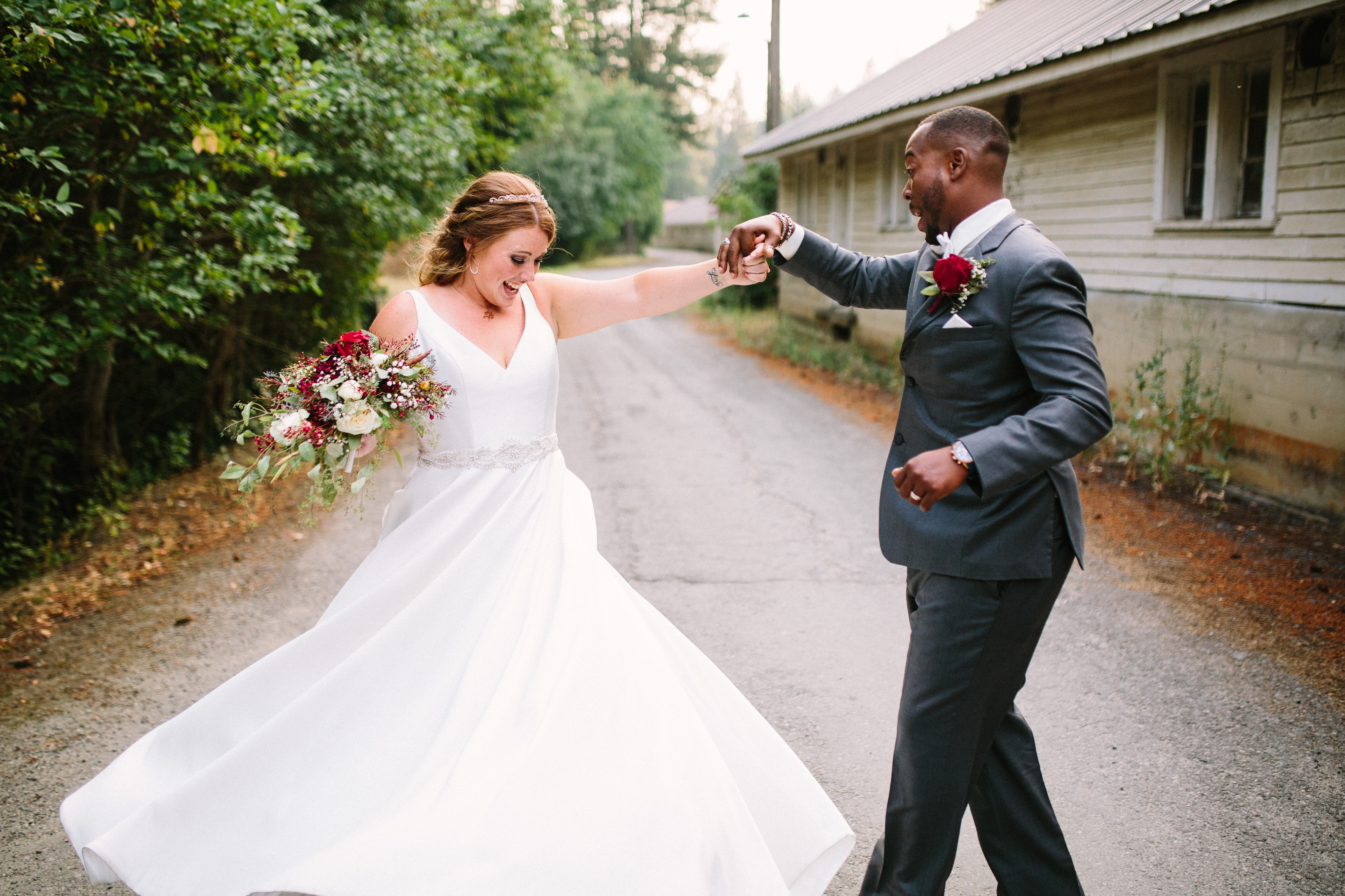 JJ & Hilary's PNW Whimsical Summer Wedding