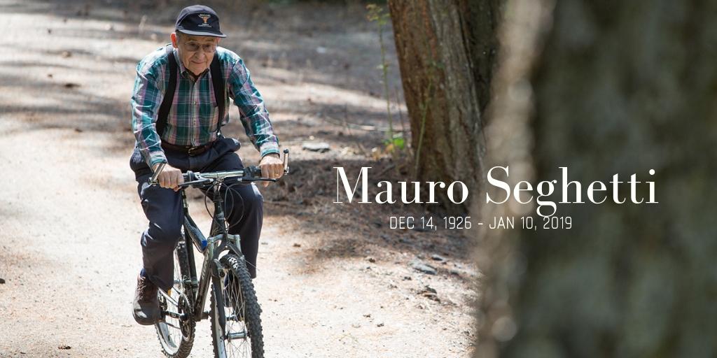 In Remembrance of Mauro Seghetti