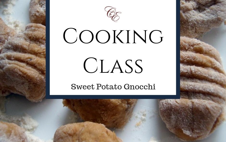4/26/19 Cooking Class: Sweet Potato Gnocchi