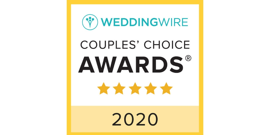 WeddingWire Couples' Choice Award Winner