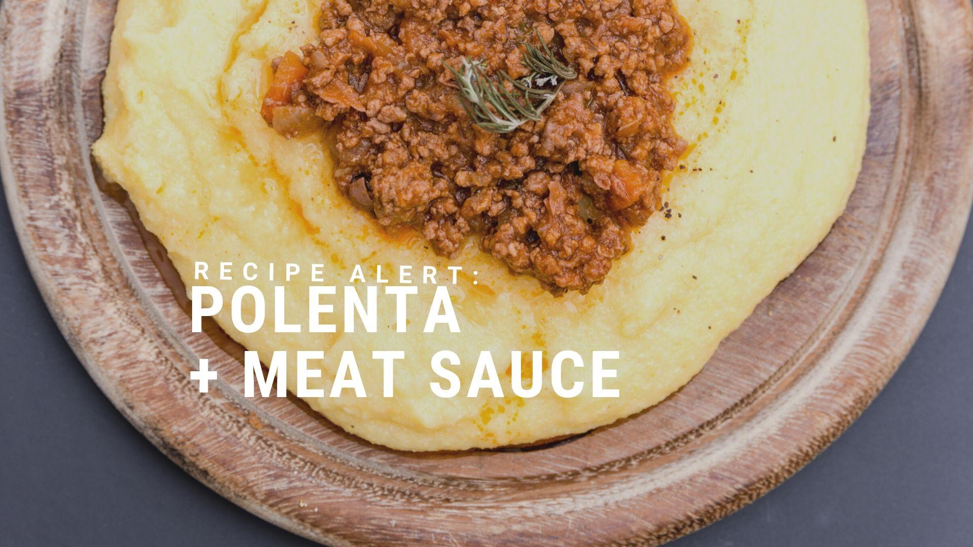 Recipe: Polenta