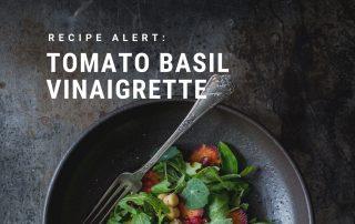 Tomato Basil Vinaigrette Recipe